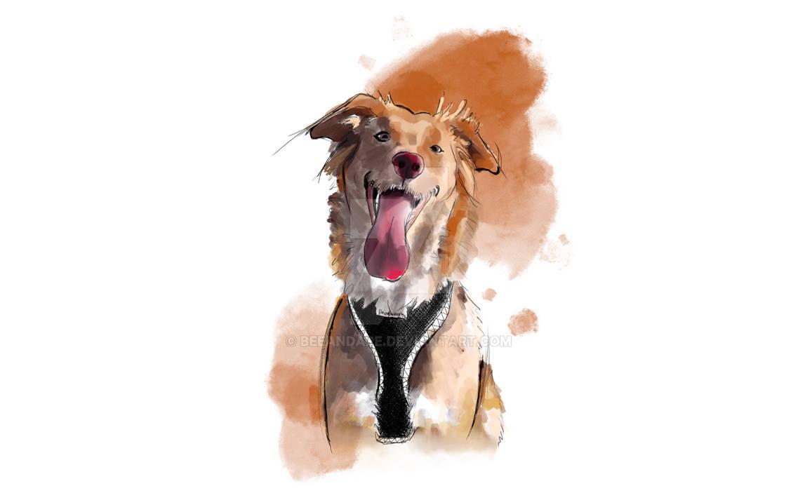 Lela-Portrait watercolor