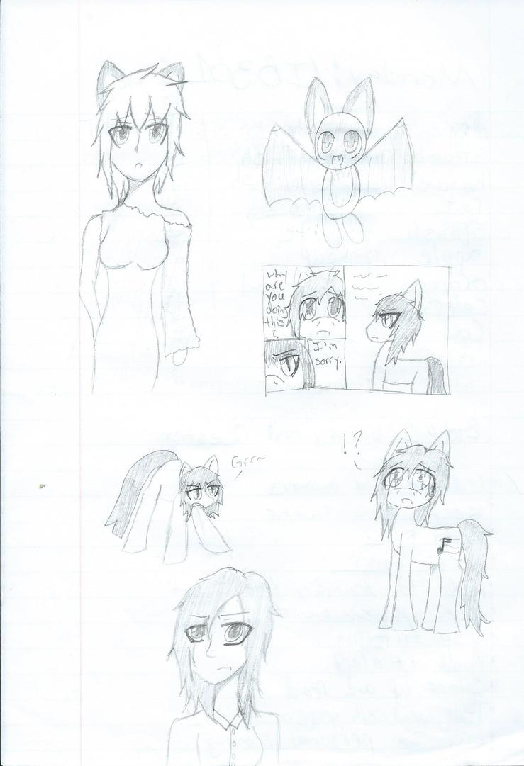 School doodles 2 by Oculus-Prime