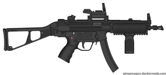 MP5a4e by Jcatz338