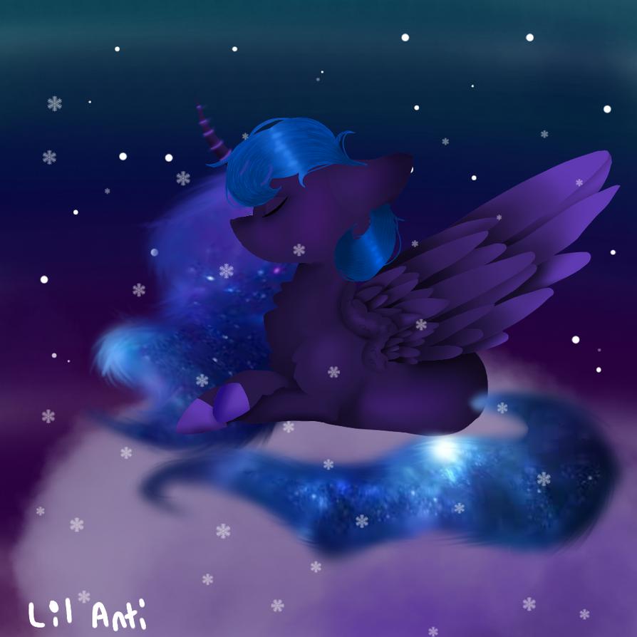 Princess Luna by xXLilyacWolfyXx