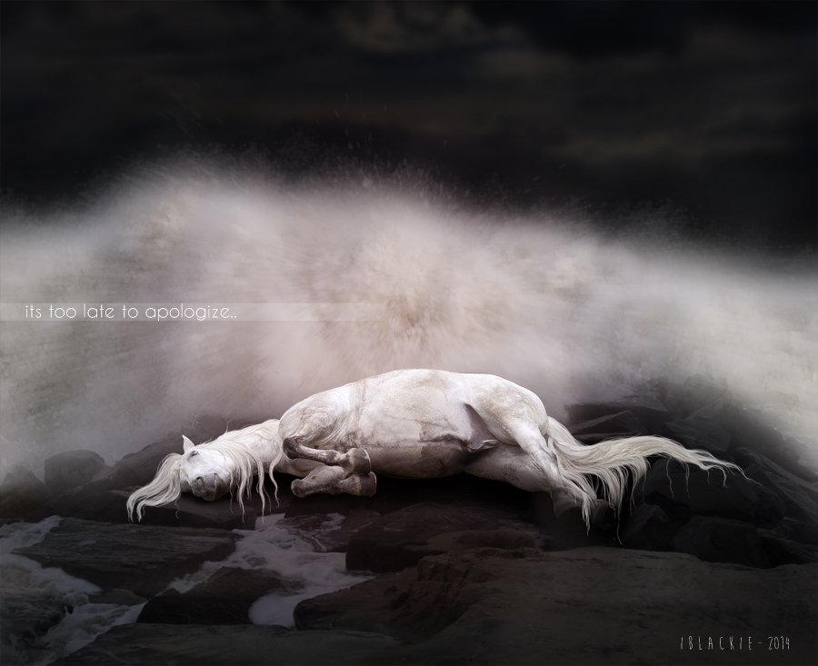 Too Late by BlackieBear101