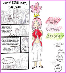 Happy Birthday Sakura 2019