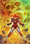 Crimson Valkyrie Powers Up