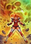 Crimson Valkyrie Powers Up