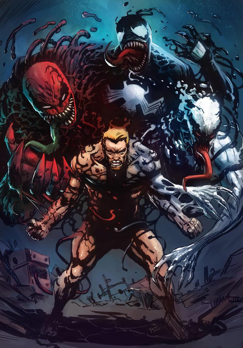 Eddie Brock's Symbiotes by Taclobanon on DeviantArt