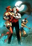 Sailor Girl,  Crimson and Young Dracula