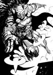Talon Knight for Reignier M by Taclobanon