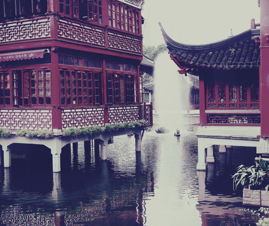 Shanghai. by whitewolfART