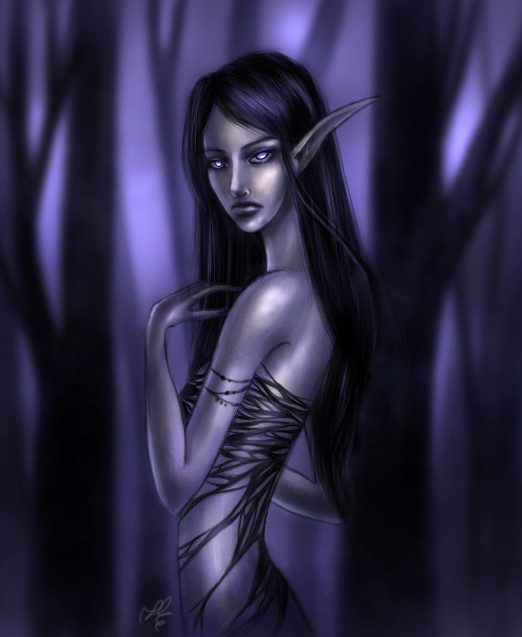 Drow by MuffinChaser
