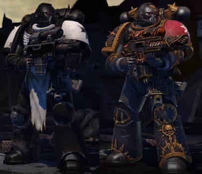 Space Marine - Chaos Marine