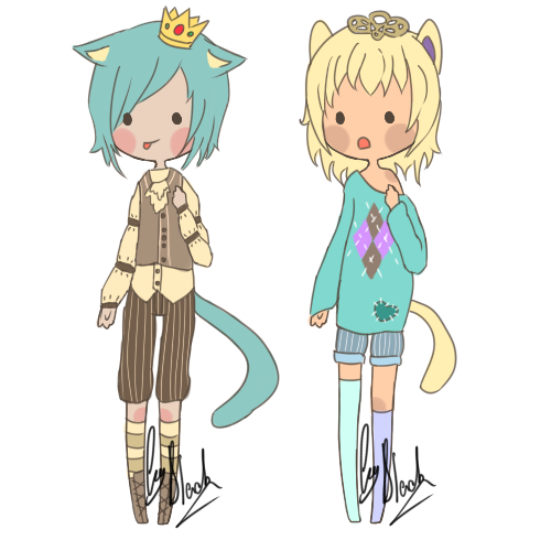 mini-kemonomimi auction [open] by black-adopts