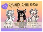 CHUBBY CHIBI BASE | $5