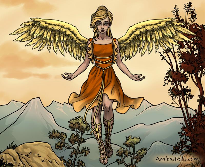 Levina Angel by allyvania88