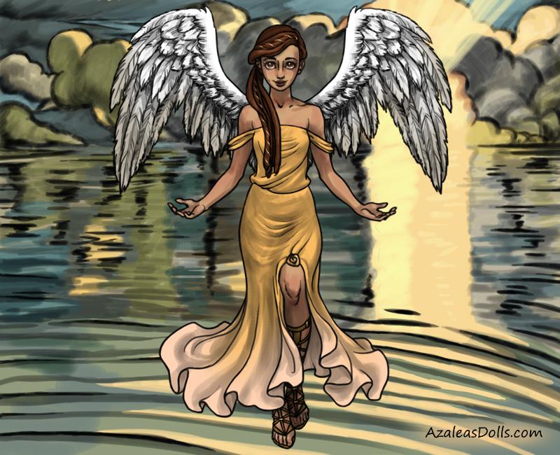 Iolana Angel by allyvania88
