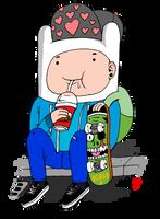 Skater Finn by keithokavv