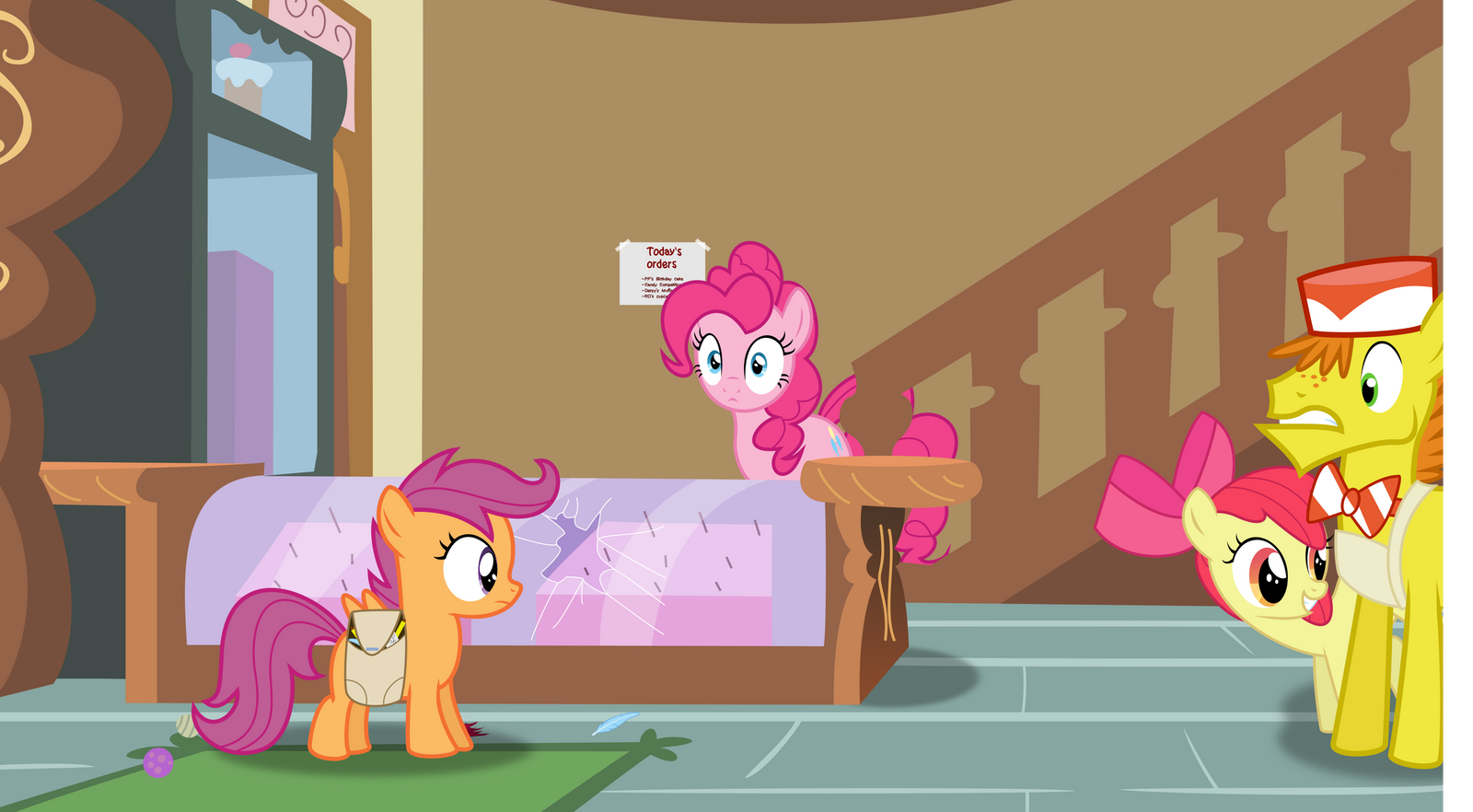 A Theft at Sugar Cube Corner!