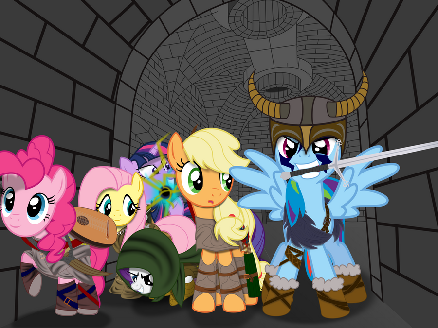 Dungeon Crawling by lightningtumble