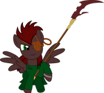 Shining Glaive (Commission)