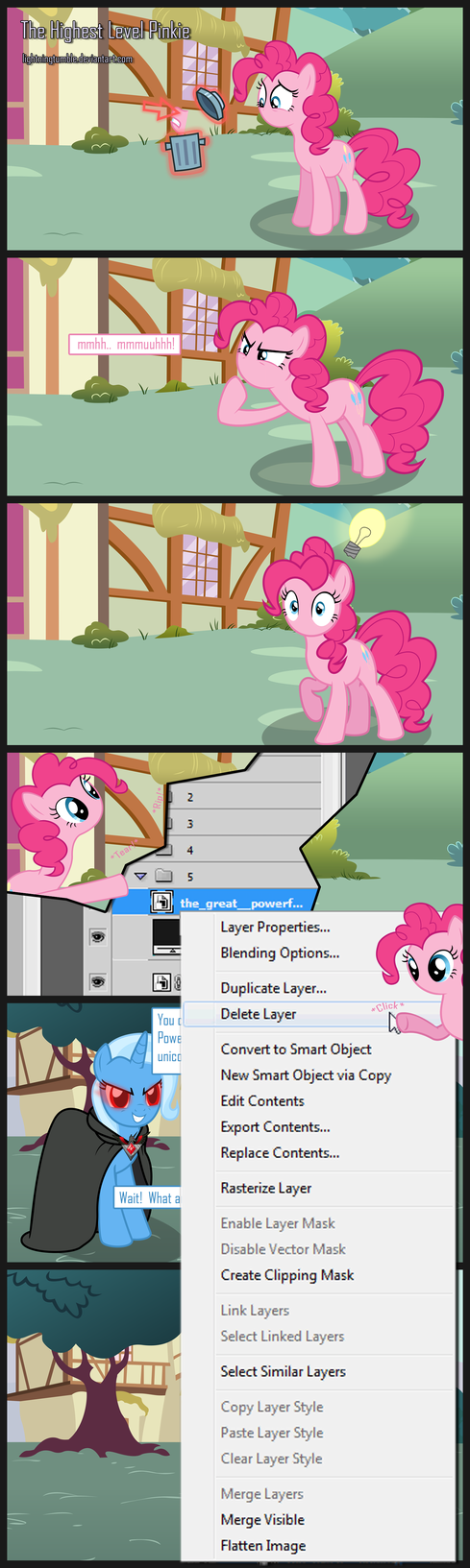 The Highest Level Pinkie by lightningtumble