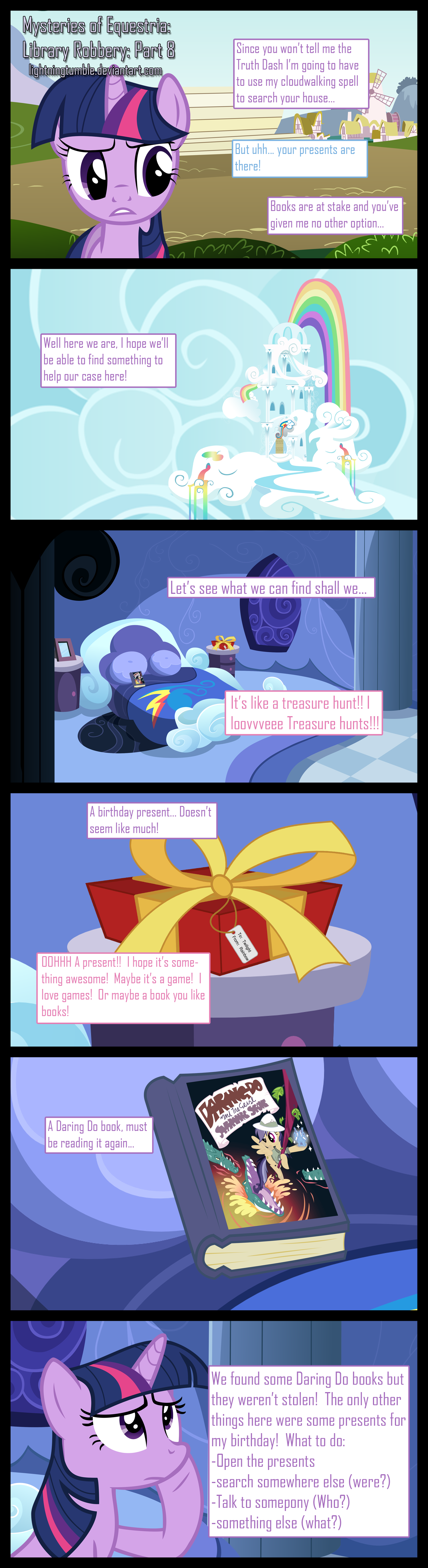 Mysteries of Equestria: Library Robbery: Part 8 by lightningtumble