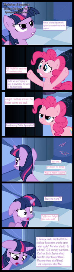 Mysteries of Equestria: Library Robbery: Part 9