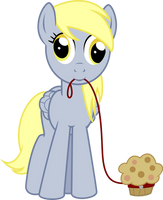 Derpy and Muffy the Muffin