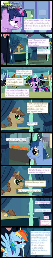 Mysteries of Equestria: Library Robbery: part 13