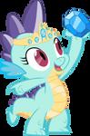 Princess Seaspark dragon (Commission)