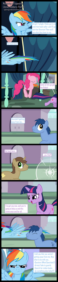 Mysteries of Equestria: Library Robbery: part 14