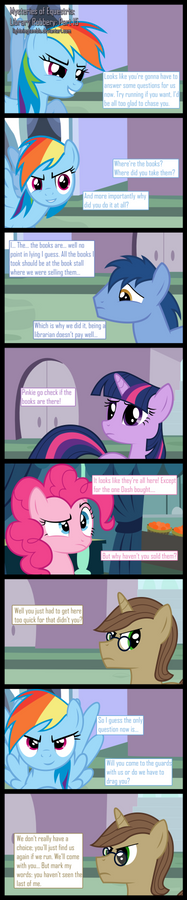 Mysteries of Equestria: Library Robbery: 15(Final)