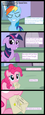 Mysteries of Equestria: Round 2
