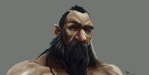 Dwarf  warrior (concept study)