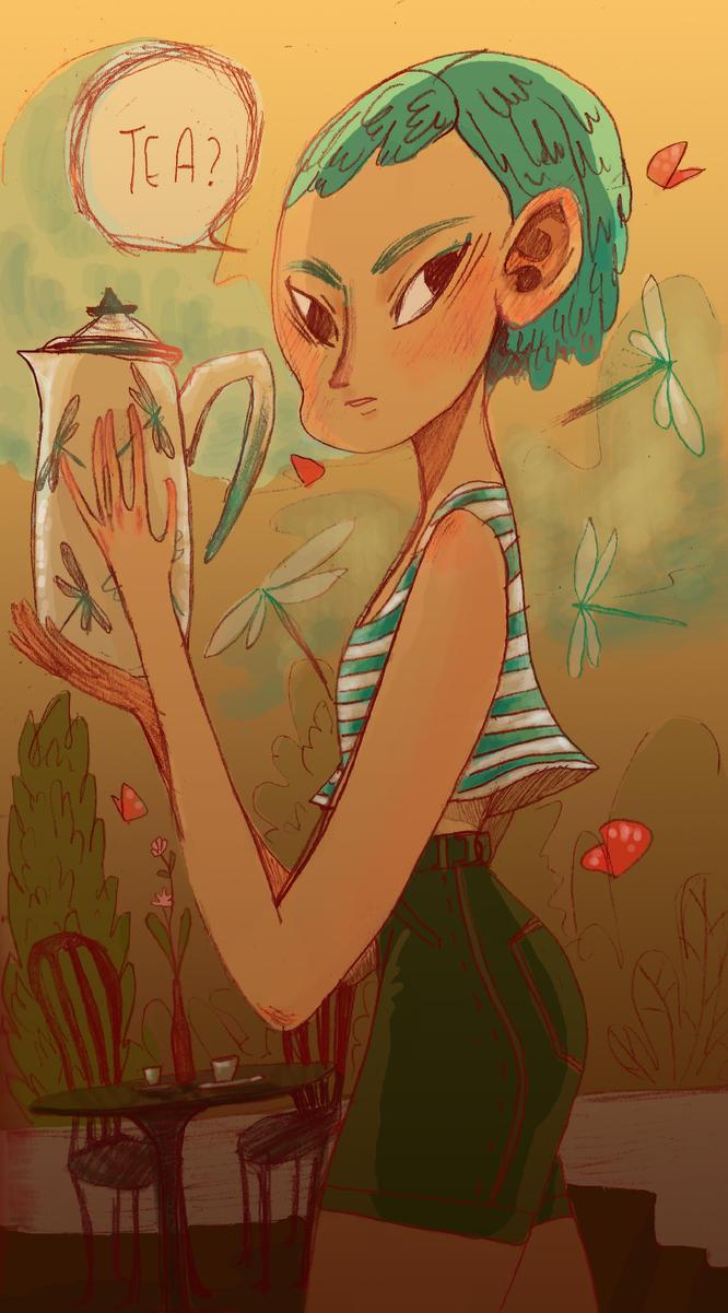 tea? by missdenarmen