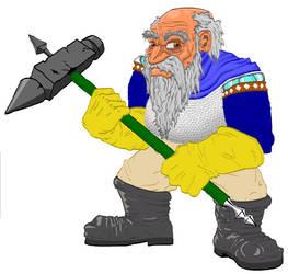 Dwarf with Hammer