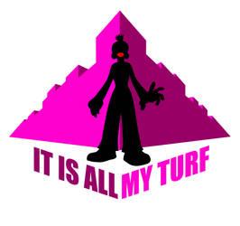 'MY TURF' T-shirt design