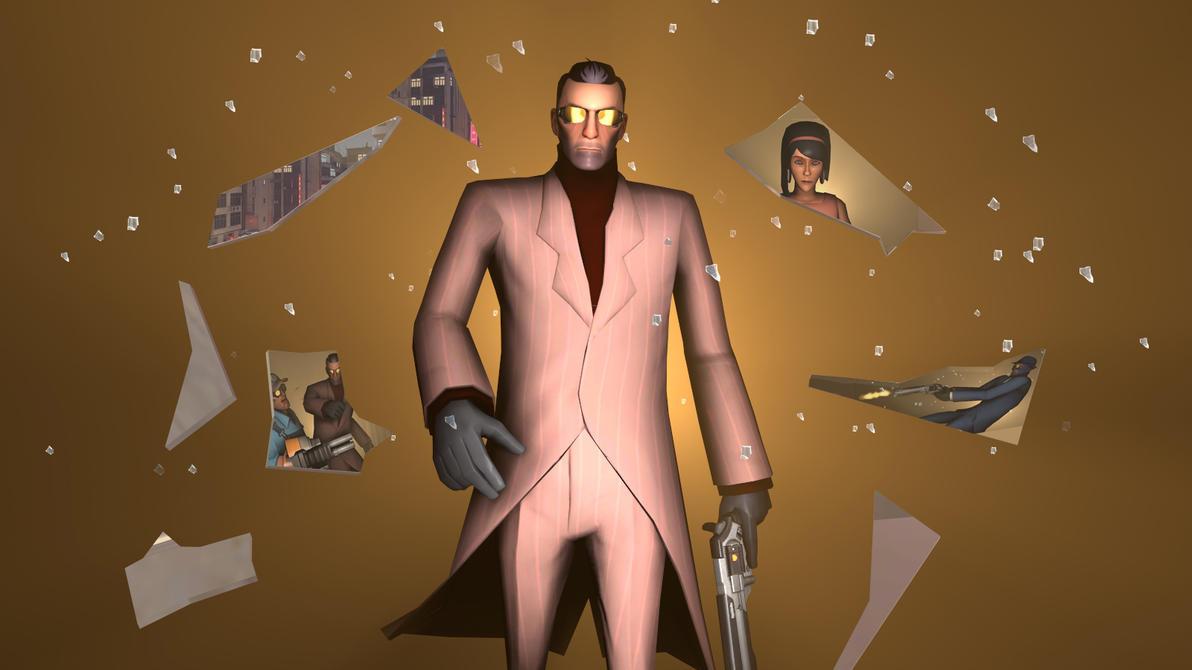 Deus Ex tribute by GhostOFSand