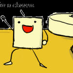 Dance cheese Dance by Luycaslima