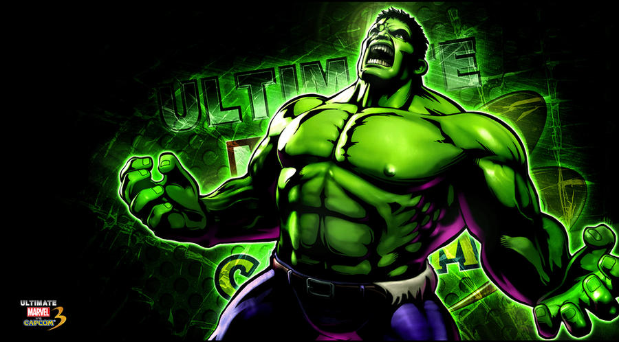 Ultimate marvel vs capcom 3 Hulk Wallpaper by KaboXx on DeviantArt