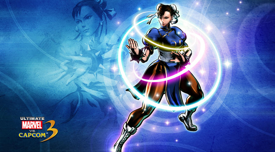 Ultimate marvel vs capcom 3 Chun li Wallpaper by KaboXx