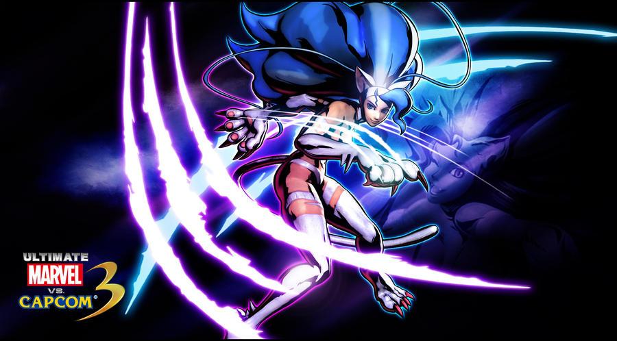 Ultimate marvel vs capcom 3 Felicia Wallpaper by KaboXx