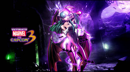 Ultimate marvel vs capcom 3 Morrigan Wallpaper