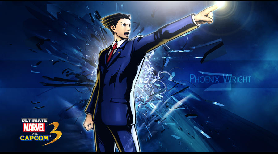 Ultimate Marvel Vs Capcom 3 Phoenix Wright By KaboXx