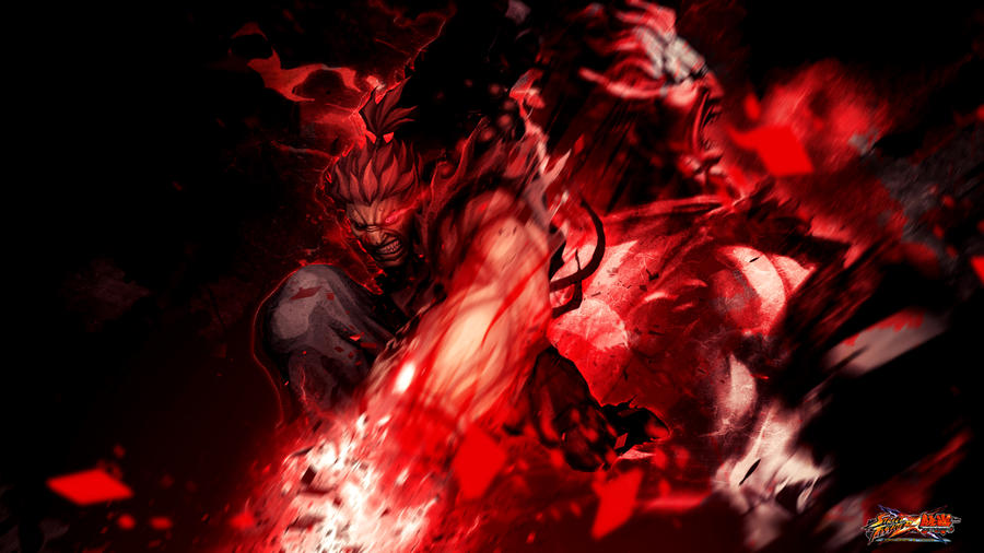 Street Fighter X Tekken Akuma By Kaboxx On Deviantart