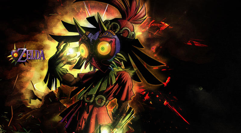 Skullkid Wallpaper by KaboXx