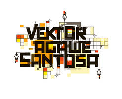 vektor agawe santosa by AYIB