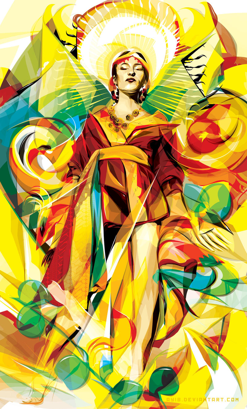 golden princess by AYIB