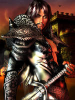The Raven Knight by MegaMako