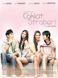 coklat stroberry movie poster by adjie76