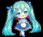 [+Video] Commission: Hatsune Miku Gatebox