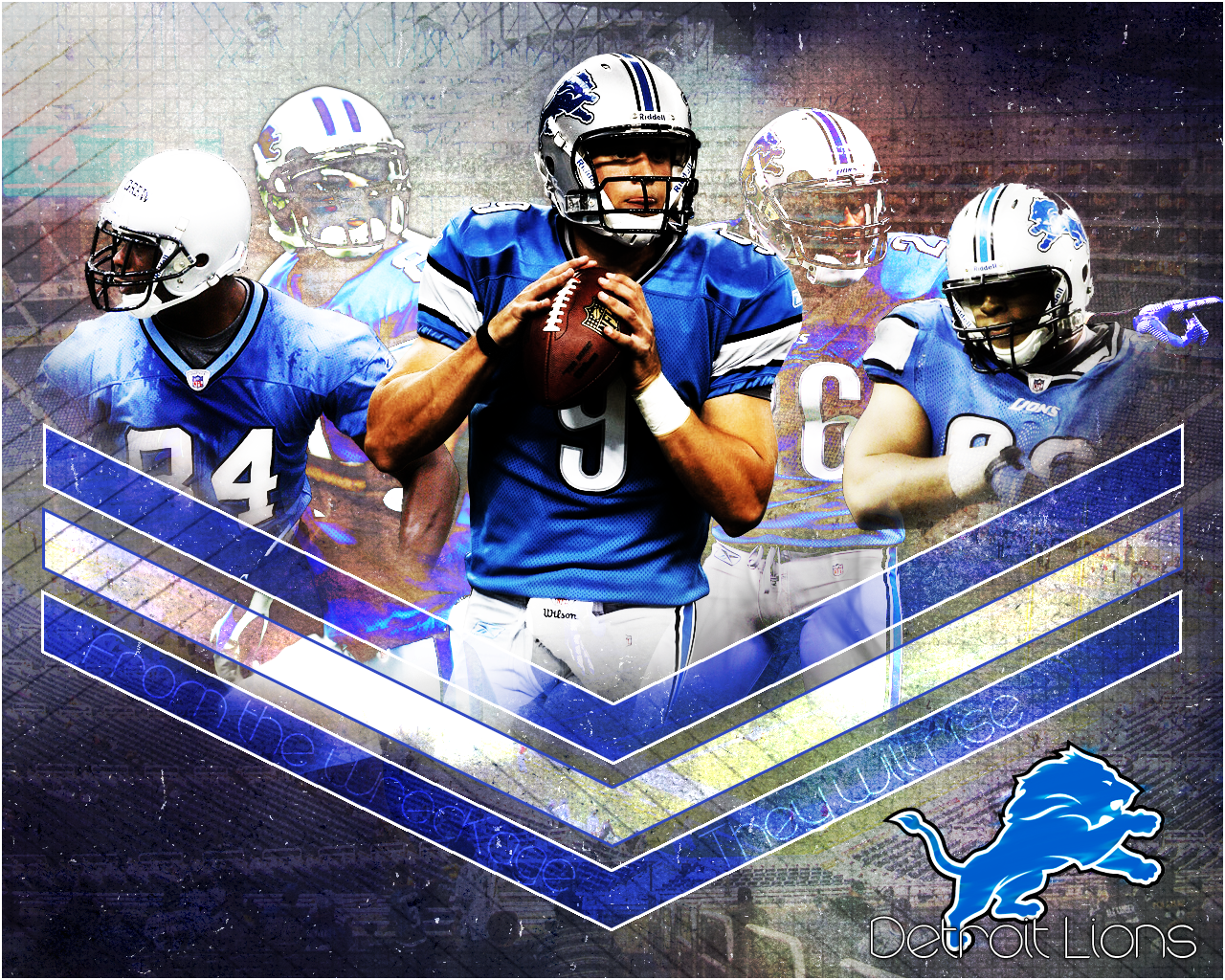Detroit Lions By GamerGuy094